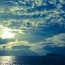 江ノ島を眺める