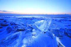 磨けば光る原石(氷)