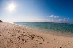 二人のビーチ