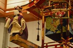 高山祭屋台会館の屋台3