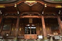 櫻山八幡宮・拝殿1