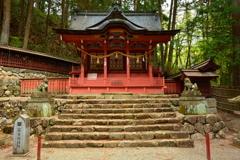 飛騨日枝神社・富士神社1