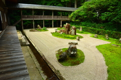 龍潭寺・ふだらくの庭