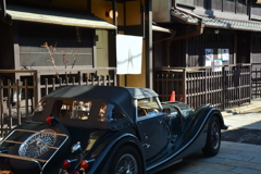 祇園新橋のクラシックカー