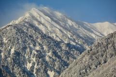 北葛岳・雪景3