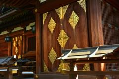 大将軍八神社・本殿2