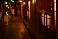 夜の京都柳小路1