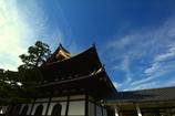 相国寺法堂と秋の空