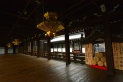 西本願寺・御影堂廊下2