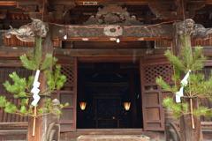 若一王子神社・観音堂