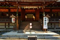 宇治上神社・拝殿
