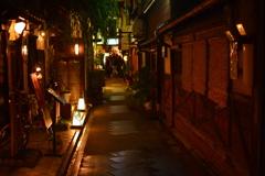 夜の京都柳小路2