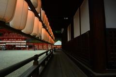 下鴨神社・神服殿の提灯