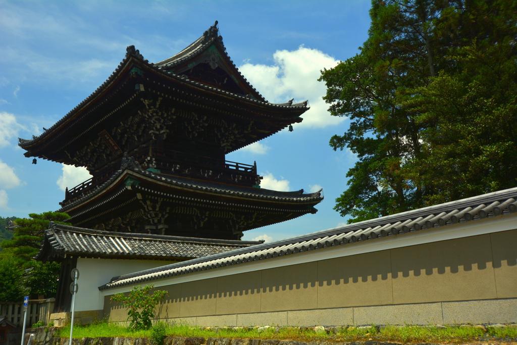 清涼寺山門2