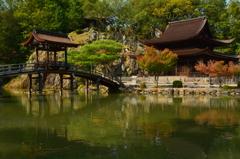 永保寺 無際橋と観音堂
