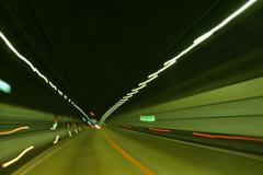 天王山トンネルの印象