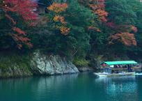 嵐山・保津峡の紅葉1