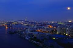 水都大阪・なみはや大橋から