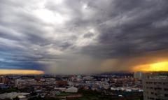 雨と太陽の戦い-2