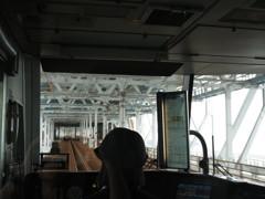 マリンライナーパノラマシートにて 瀬戸大橋2