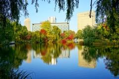 秋のホテル