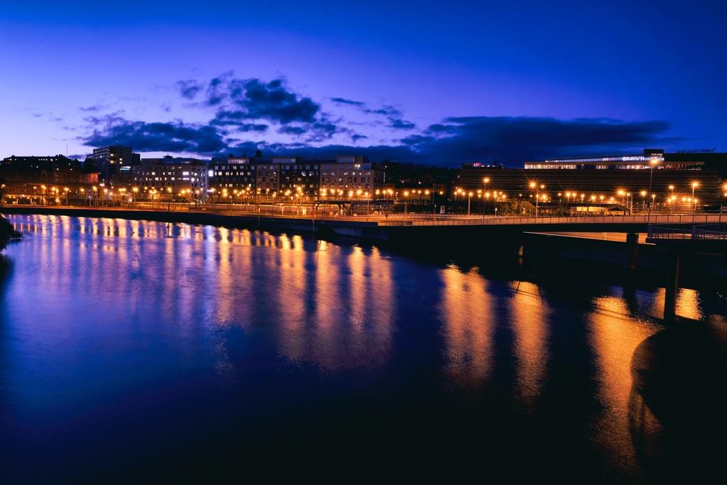 Stockholm night.