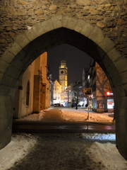 門 雪の古都ラーベンスブルク