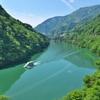 新緑庄川峡