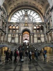 世界一美しい駅 アントウェルペン中央駅@ベルギー