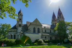 コブレンツ最古の聖カストル教会