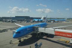 スキポール空港到着