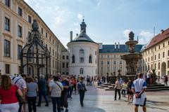 プラハ城第二の中庭