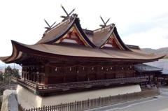 備中国一宮 吉備津神社 国宝 本殿