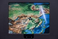 中国上空を避けて