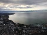 ボーデン湖越しスイスアルプス遠望