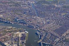 世界遺産の運河が広がるアムステルダム<Lightroom版>