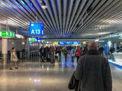 フランクフルト国際空港の不思議