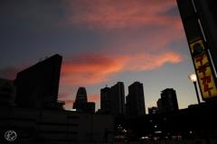 朱鷺色の雲