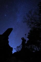 神武の古より続く星空