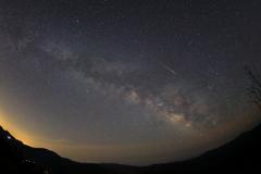 曽爾の空の流星に祈る