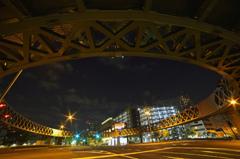 近未来的歩道橋