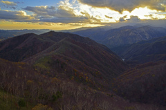 半月山展望台からの風景