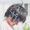 girl in bubbles