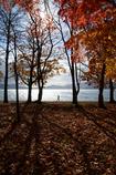 洞爺湖を歩く