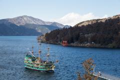 芦ノ湖 俯瞰撮影