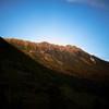 水晶岳 高天原山荘より