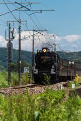 国鉄D51形蒸気機関車498号機