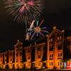 Red brick fireworks