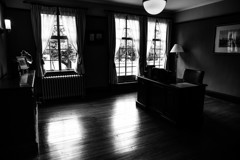 ベーリックホールの書斎