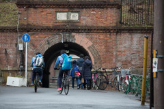 煉瓦造りのトンネル ②